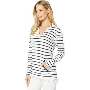 Lilly Pulitzer Crestwood Striped Sweater XS NWT